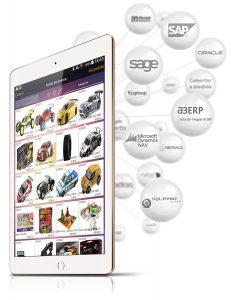 OrdersCE - catálogo para tablet