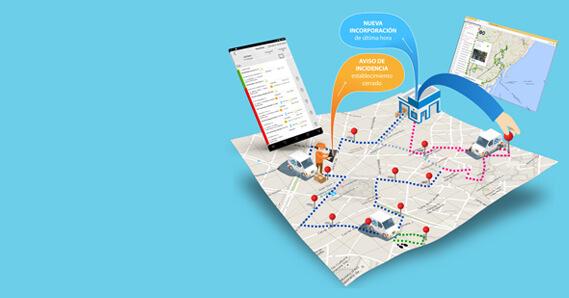 App logística para comerciales
