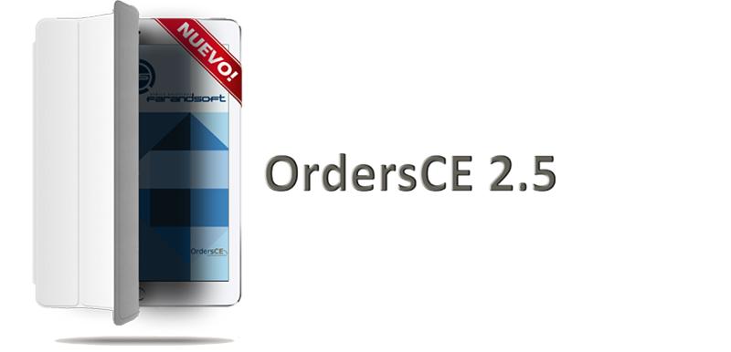 Ipad blanco con Smart Cover.Nueva Versión OrdersCE 2.5