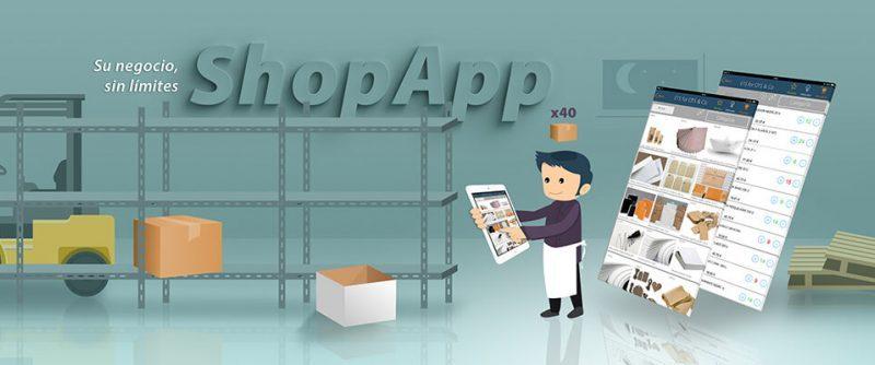 App catálog de productos comercial