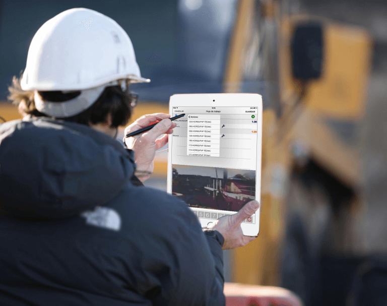 App gestión trabajo empleados