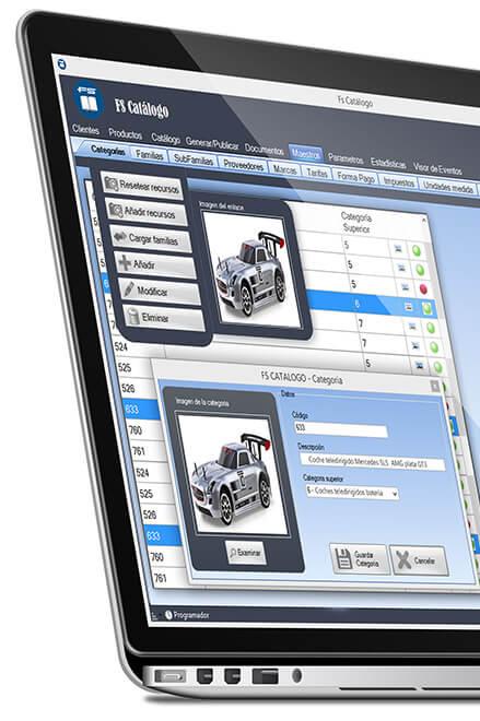 Software para catálogo tienda online
