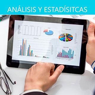 App análisis y estadísticas de tienda