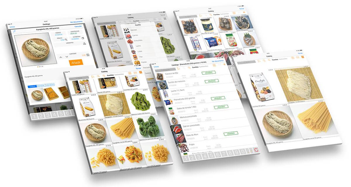 App catálogo comercial de productos