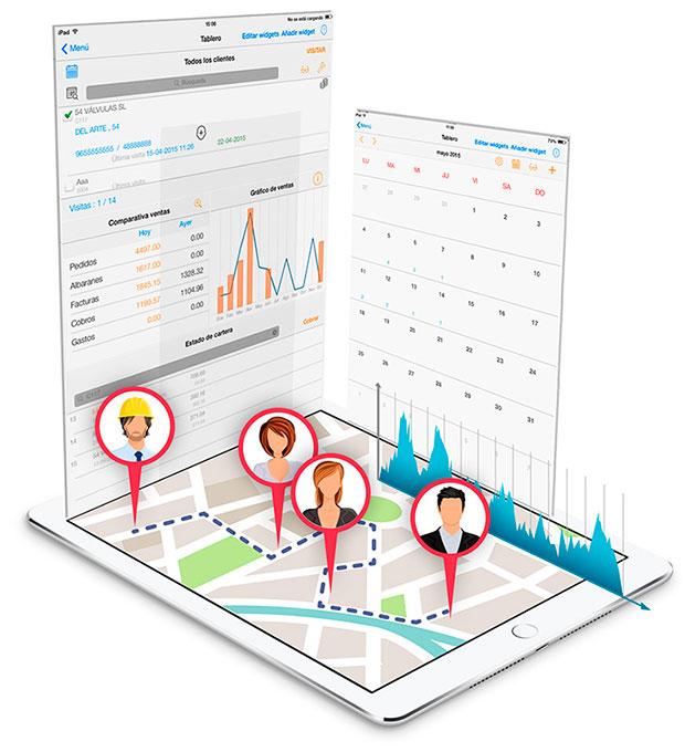 Software empresarial de gestión de trabajo