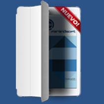 Iphad con Smart Cover. Pantalla de inicio de OrdersCE