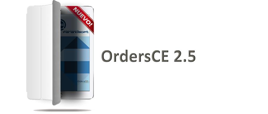 Nueva Versión OrdersCE 2.5