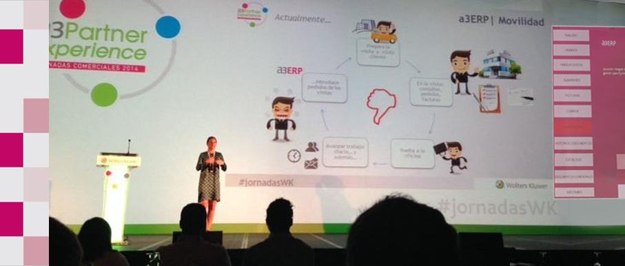 Presentación de a3ERP Movilidad desarrollado por FarAndSoft