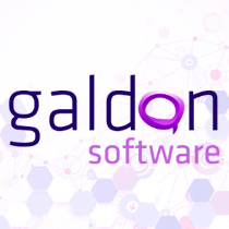 Logotipo Galdon software