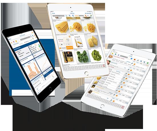 Programa tablet para comerciales