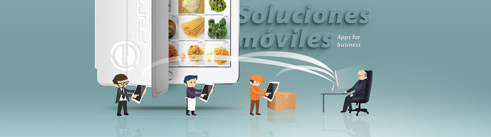 Apps de ventas para comerciales