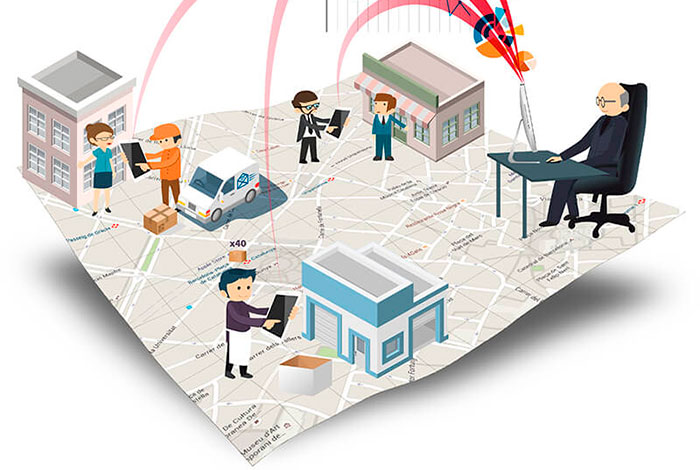 ERP gestión centralizada